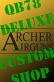 Design your own QB78 Deluxe with the Archer Airguns Custom Shop.