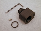 Archer Airguns Paintball Tank Adapter for QB79 allows modern 9-oz paintball tanks to be used with the QB79 and AR2079.