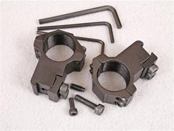 High quality high scope rings. For 1 inch scopes. Suitable for all air rifles.