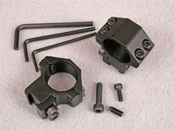 High quality scope rings. Medium height. For 1 inch scopes. Suitable for all air rifles.