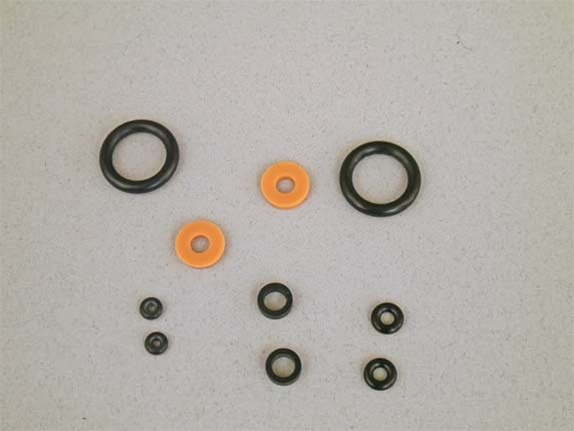 Brass//steel thread sku17 Exten probe Ring for Crosman 2240/_50/_60  .22 cal