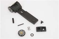Original factory replacement fiber optic rear sight for Beeman Sportsman Series air rifles. Archer Airguns.