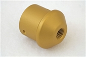Gold Pressure Tube Cap for Benjamin Marauder air rifles. Marauder. Benjamin. Mrod, M-rod, crossman, archer airguns, 1763-011.