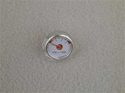 Pressure Gauge for Benjamin Marauder air rifles. Marauder. Benjamin. Mrod, M-rod, crossman, archer airguns, 1763-033.